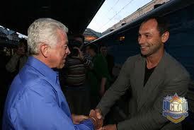 Барри Смит приехал в Петербург в гости к СКА.